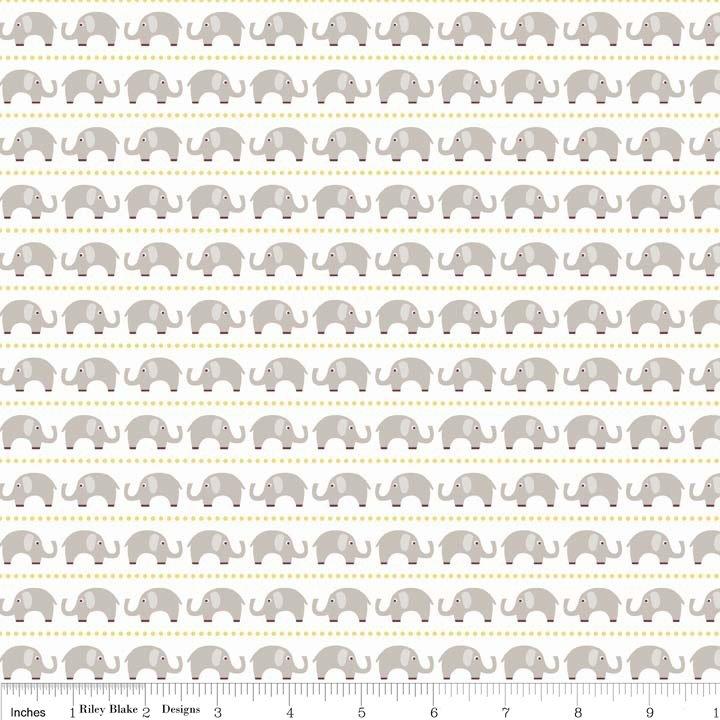 Oh Boy Elephants- C3301-Gray