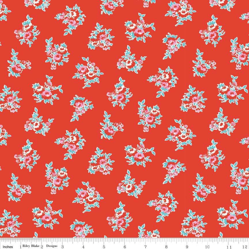 C4342-RED Milk Sugar & Flower
