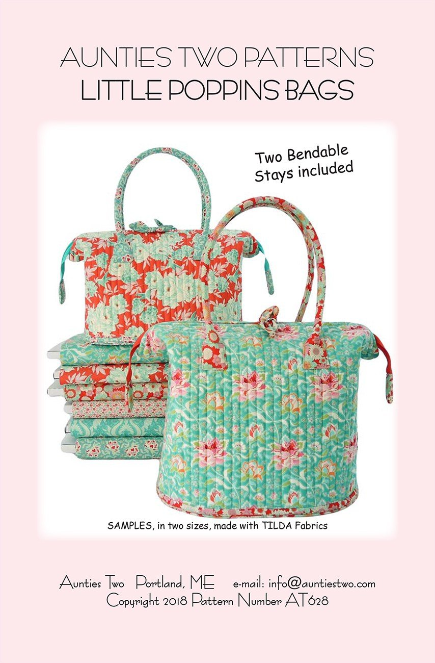 AT628 Little Poppins Bag Pattern