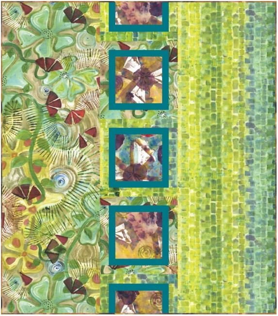 Dovetail - Baltic Squares Quilt Kit