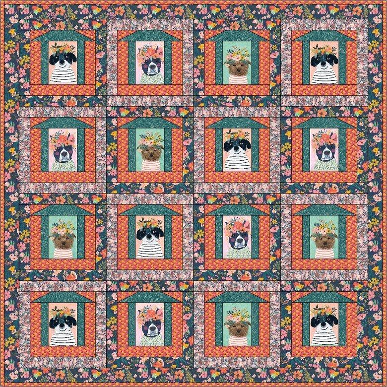 Floral Pets Kit - Cats