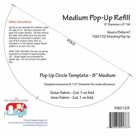 FQG123 Pop-Up Refill Medium 8in