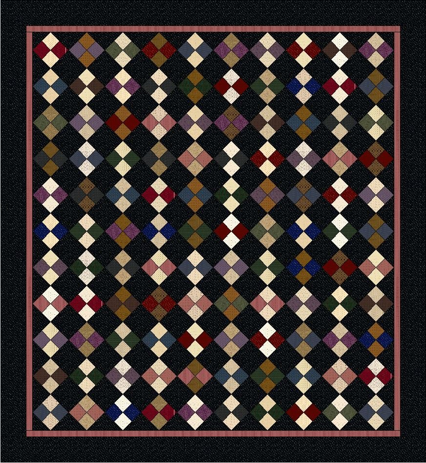 Reed's Four Patch Quilt Kit