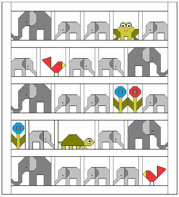 Elephant Parade - Sew Fresh Quilts