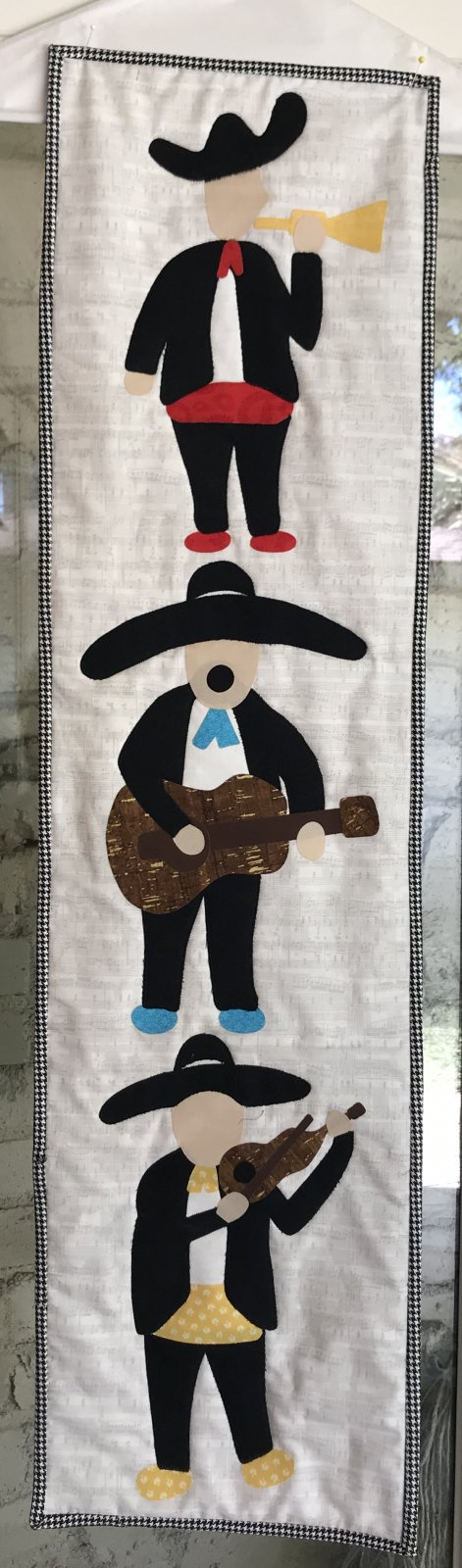 Mariachis Row by Row 2018 - Pattern