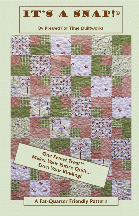 It's a Snap! Quilt Pattern