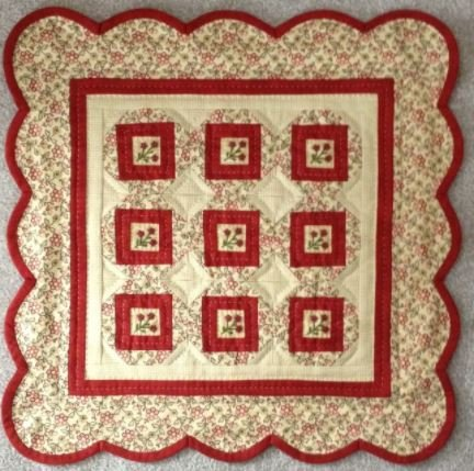 #510 Little Red Ten - Red Button Quilt Co.