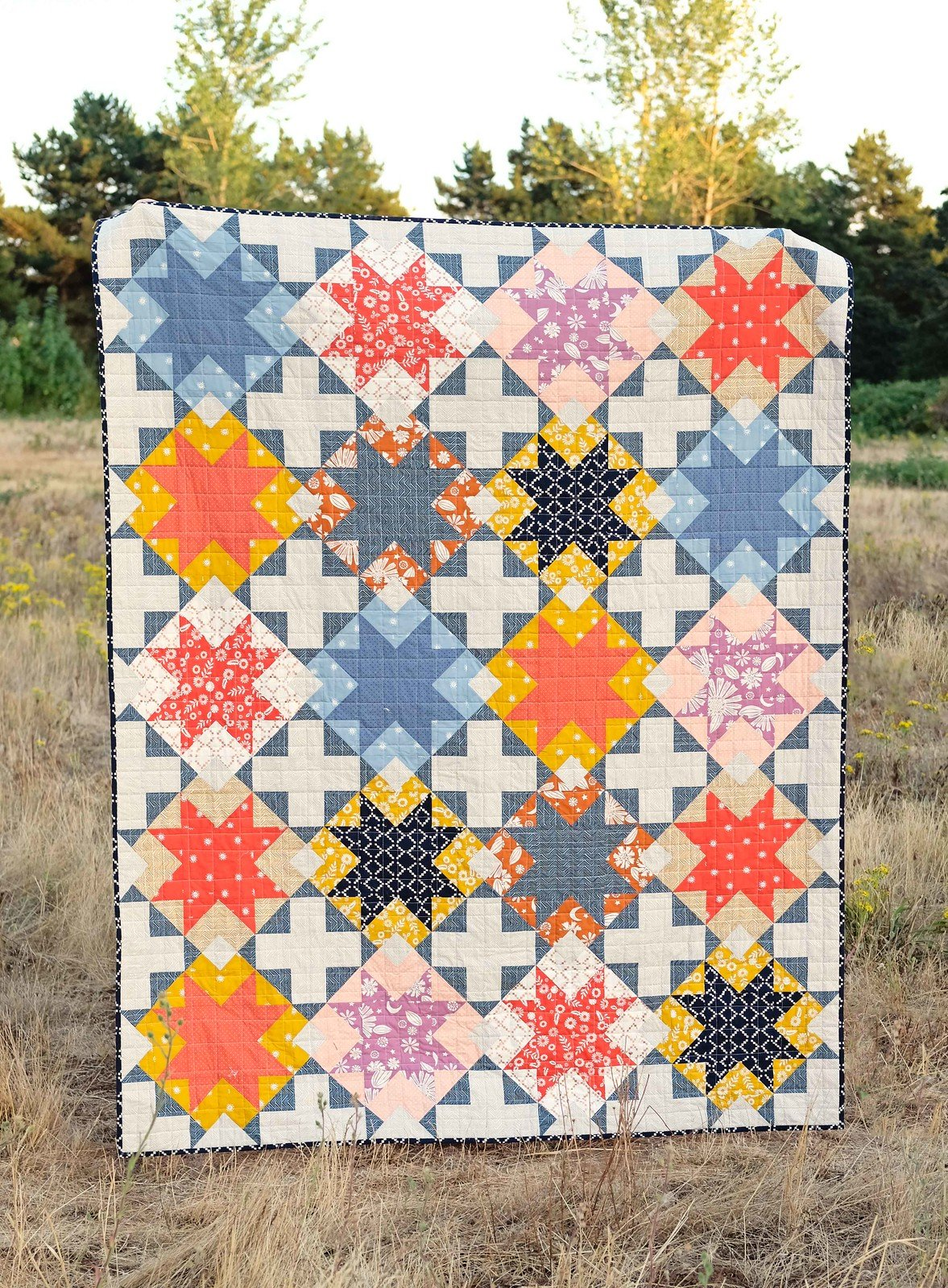 The Maggie Quilt Kit 57 x 72 Ruby Star Society