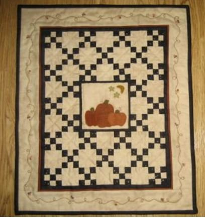 #303 Mini Around the Pumpkin Patch - Red Button Quilt Co.