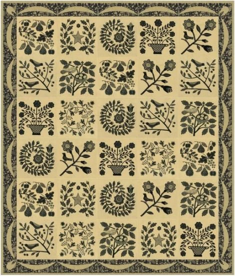 My Baltimore Quilt Kit - Whole Wheat - 51x60
