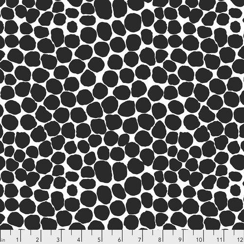 PWBM053.BLACK Jumble - Black - Kaffe Fassett Collective February 2020