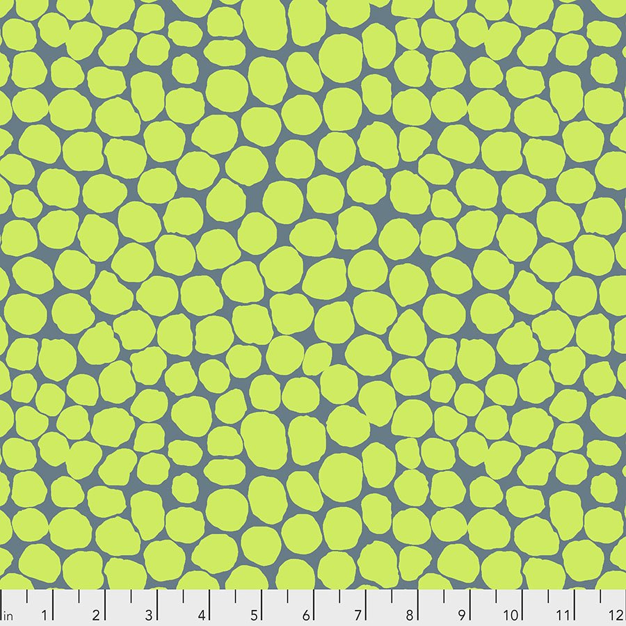 PWBM053.LIME Jumble - Lime - Kaffe Fassett Collective Spring 2021