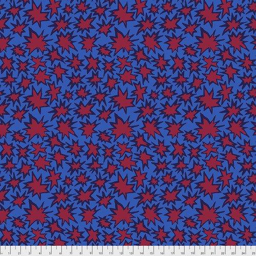 PWBM072.BLUE Kaffe Fassett - Bang - Blue