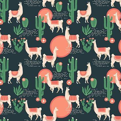 PWJD146.SEDON Florabelle - Lingering Llamas - Sedon