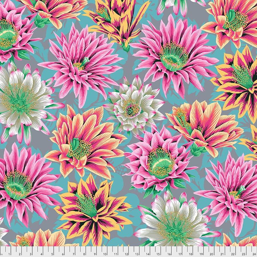 PWPJ096.TAWNY Cactus Flower - Tawny - Kaffe Fassett Collective Spring 2021