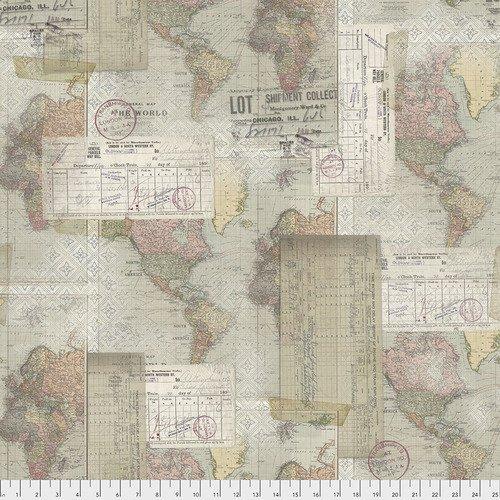 PWTH103.MULTI World Map - Multi