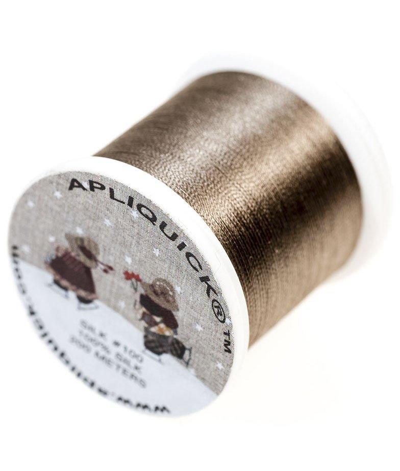 Apliquick Silk Thread - Taupe