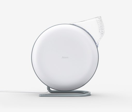 IQ Air Atem Personal Air Purifier - Part No. 250 0P 10 02 (White)