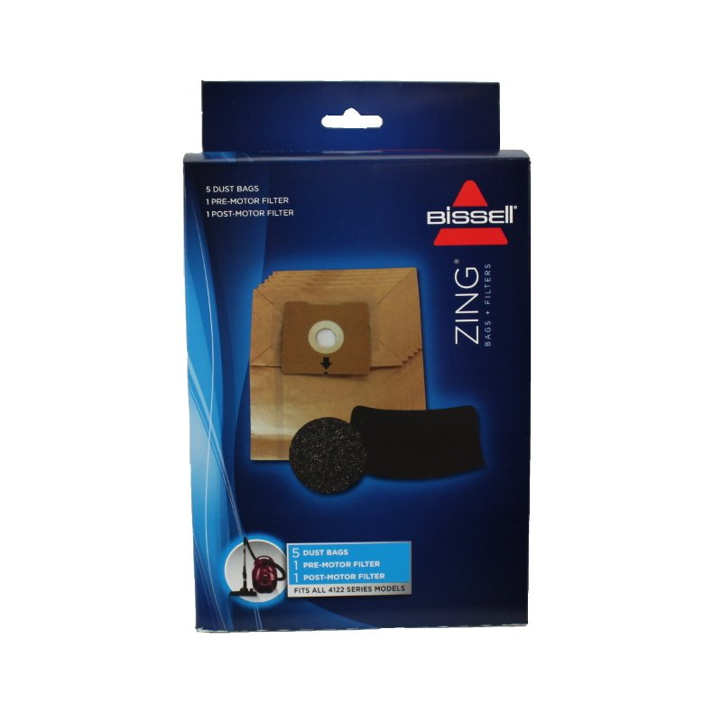 Bissell Zing Canister Bags 5pk - Part No. 1480