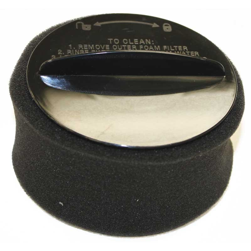 Bissell Circular Dirt Cup HEPA Filter with Foam  - Part No. 203-7913