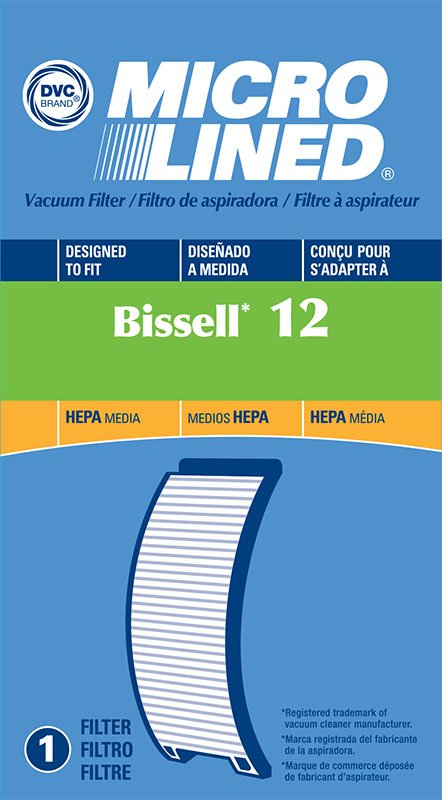 Bissell PowerForce HEPA Filter Style 12 - Part No. 203-1402