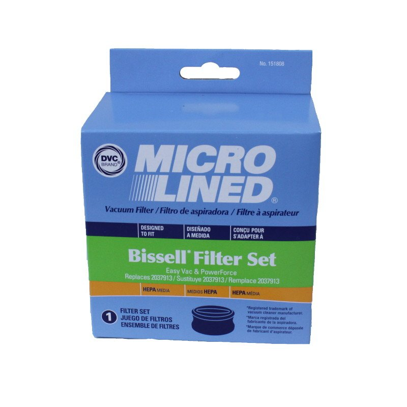 Bissell PowerForce Easy Vac HEPA Filter Set - Part No. 203-7913
