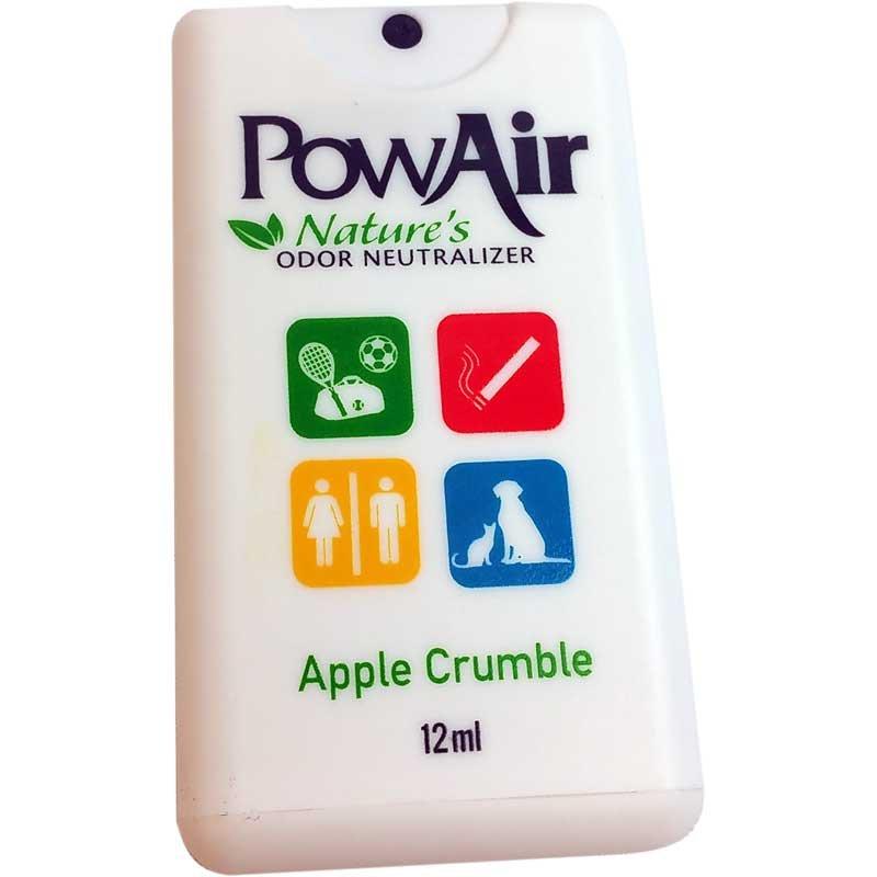 PowAir Apple Crumble Odor Neutrilizer Spray Travel Card - Part No. PLI-15MC-AC