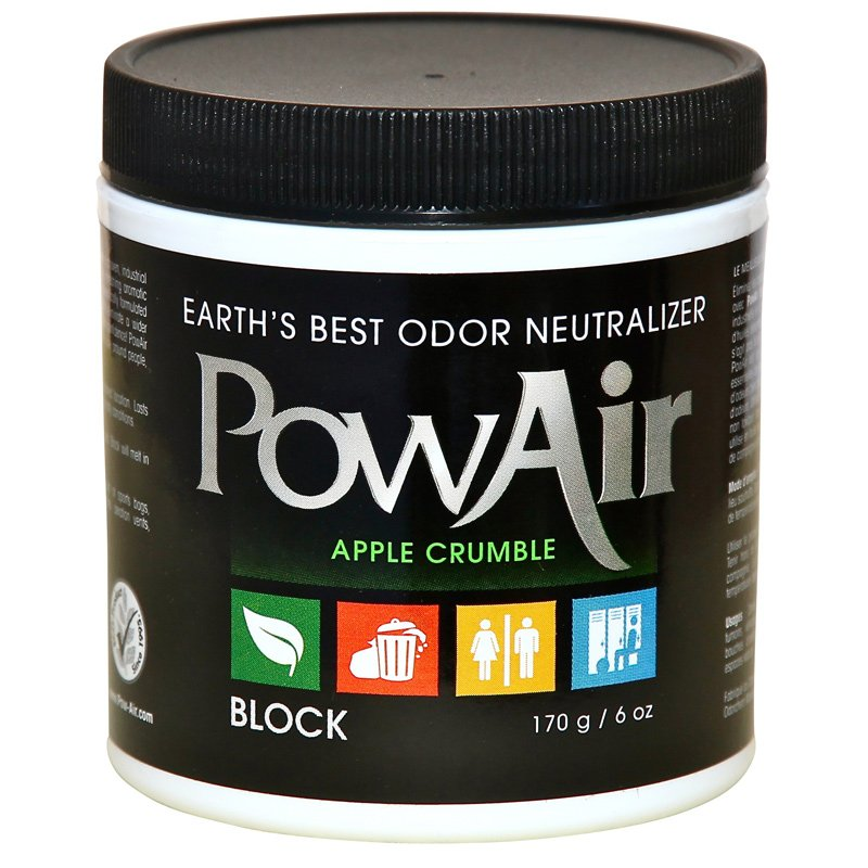 PowAir Odor Neutralizer Block 6oz Apple Crumble - Part No. PBK-170DW-AC