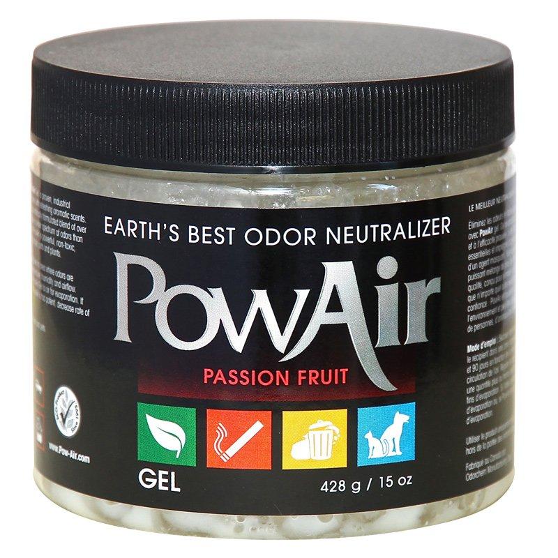 PowAir Odor Neutralizer Gel 15oz Passion Fruit - Part No. PGL-500ML-PF