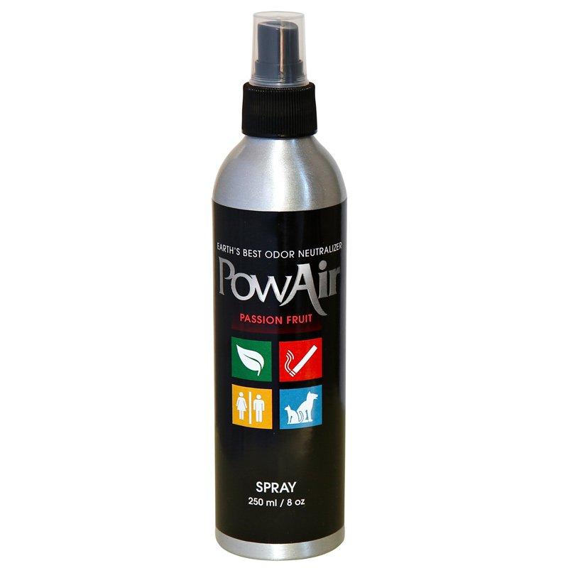 PowAir Odor Neutralizer Spray 8oz Passion Fruit - Part No. PLI-250MC-PF