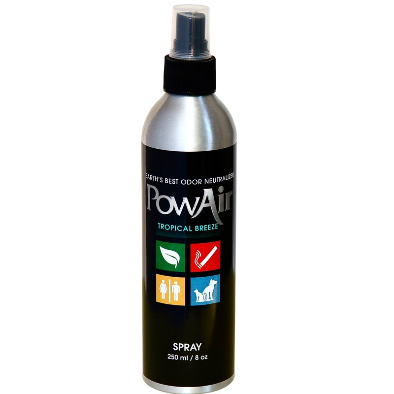 PowAir Odor Neutralizer Spray 8oz Tropical Breeze - Part No. PLI-250MC-TB