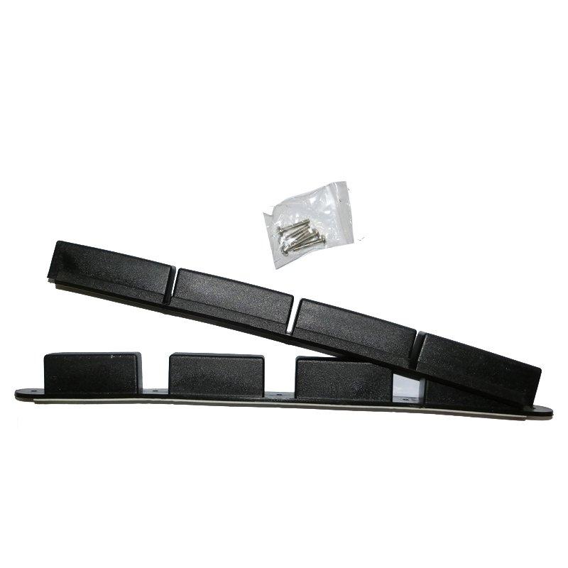 Sanitaire 12 Black Flexible Magnet w/Cover - Part No. MP2554