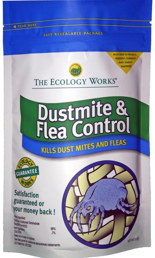 DustMite and Flea Control 8oz bag - Part No. 1115