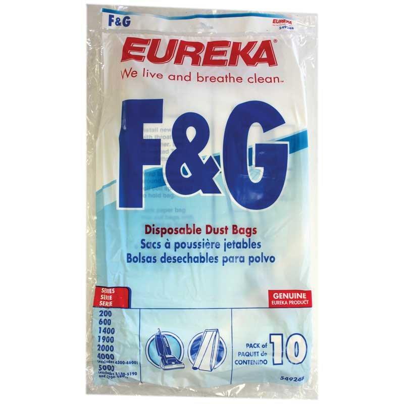 Eureka / Sanitaire F&G Bags - 10pk - Part No. 54924