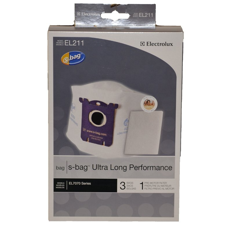 Electrolux S-bag Ultra Long Performance 3pk - Part No.  EL211