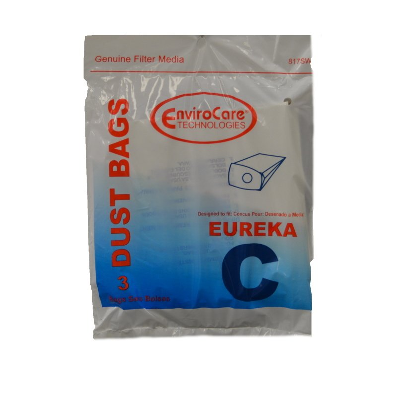 Eureka Mighty Mite Style C Bags 3pk Part No 52318aa