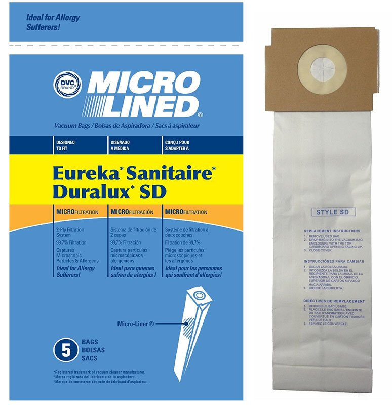 Sanitaire SD Bag 5pk - Part No. 63262
