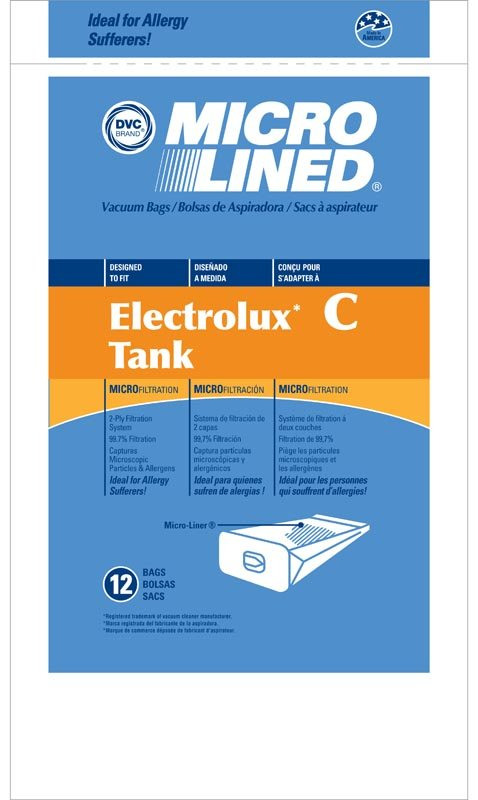 Electrolux Can Style C Bags - Part No. 433837