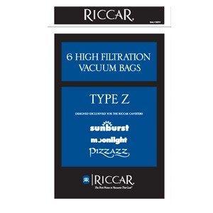 Riccar Type Z Paper Bags for Sunburst & Moonlight 6pk - Part No. RZP-6