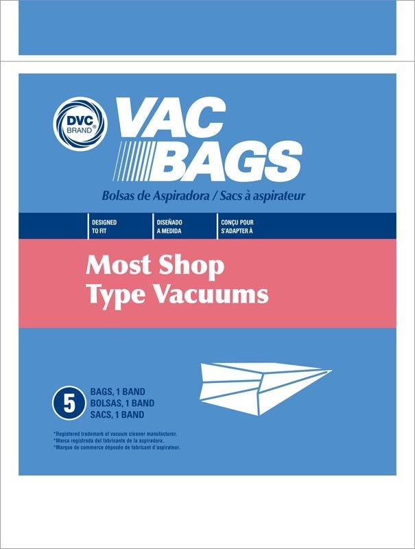 Shop Vac Bags 5pk - Part No. 405515
