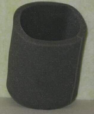 Shop Vac Foam Sleeve Filter - Part No. X3500WHBVC01