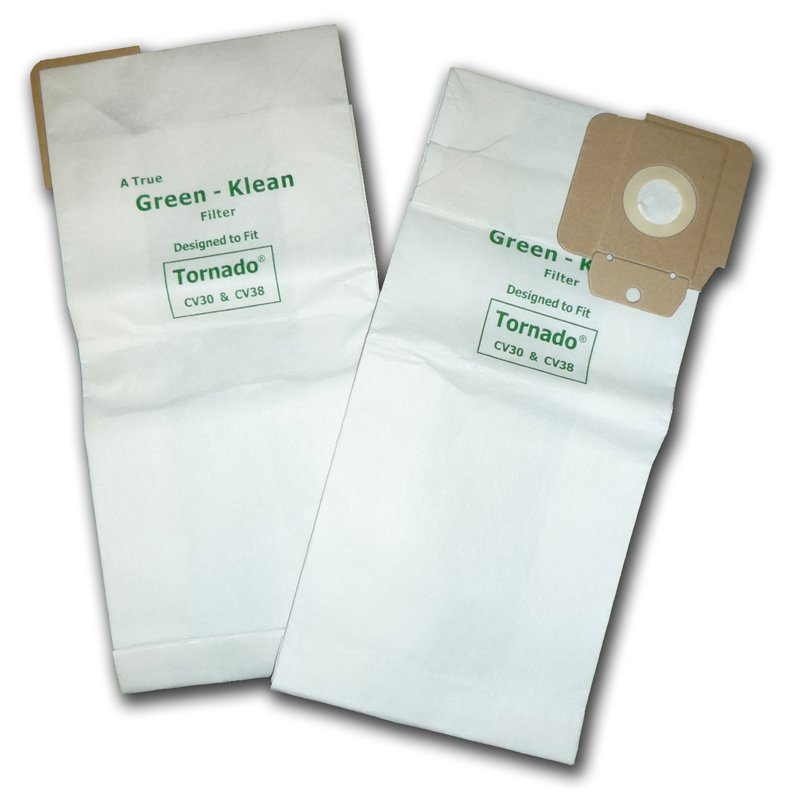 Tornado CV30 & CV38 Paper Bag 10pk - Part No. K60904294