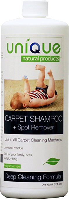 Unique Carpet Shampoo & Stain Remover 32oz