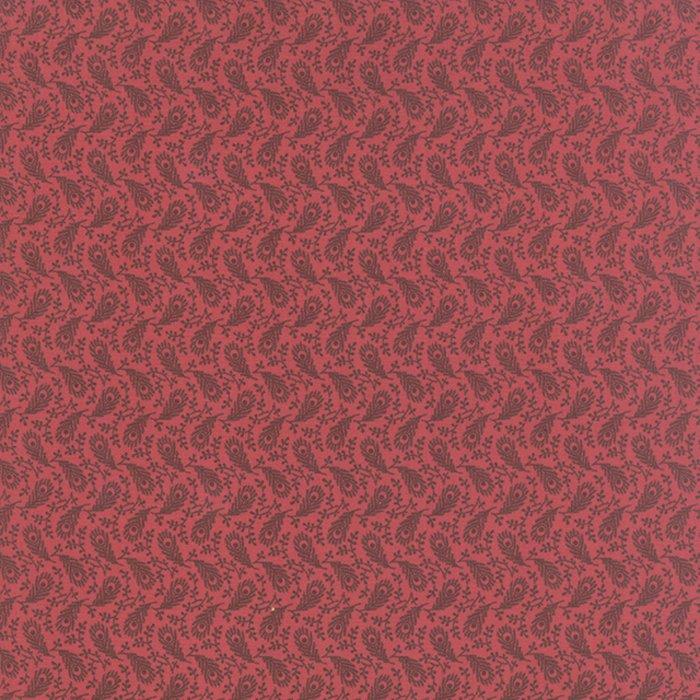 Petite Prints Deux Paulette Faded Red