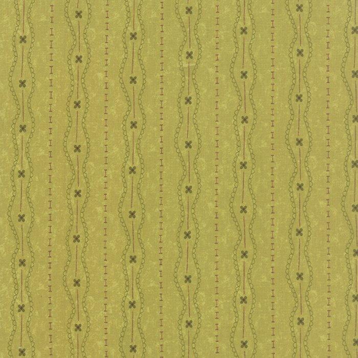 Prints Charming Lacey Stripe Light Green