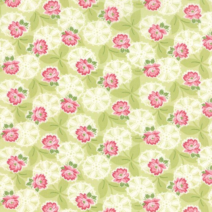 Ambleside Lacy Daisy Rose Light Green