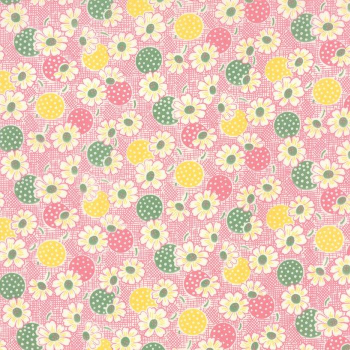 Fresh Air Polka Dot Daisy Pink