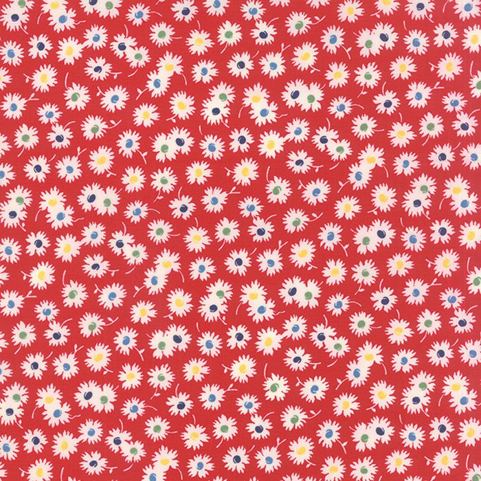 Fresh Air Spiky Flowers Red