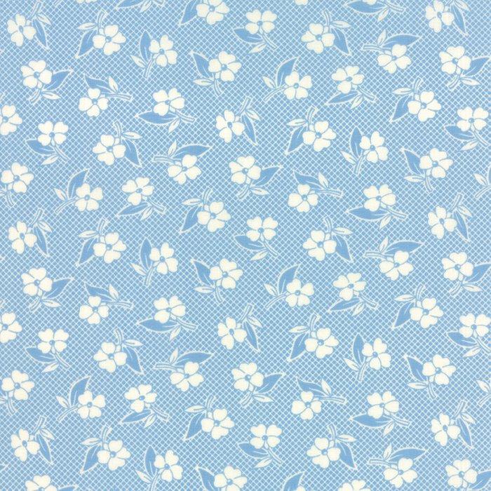 Fresh Air Floral Two Tone Light Blue