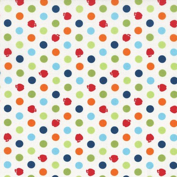 Apple Hill Farm Polka Dots White